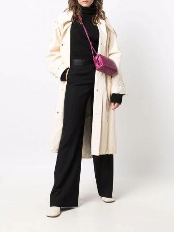Loop Intrecciato leather cross-body mini bag