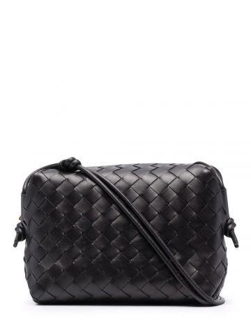 Black Loop intrecciato bag