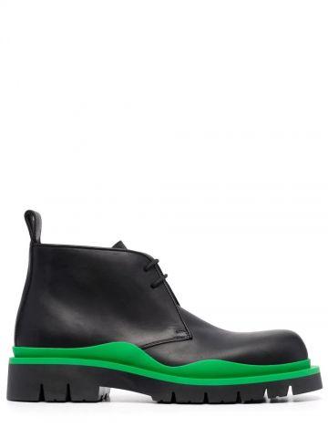 Black Tire boots