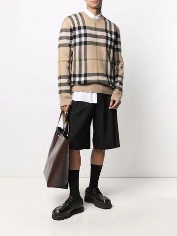 Beige cashmere jumper