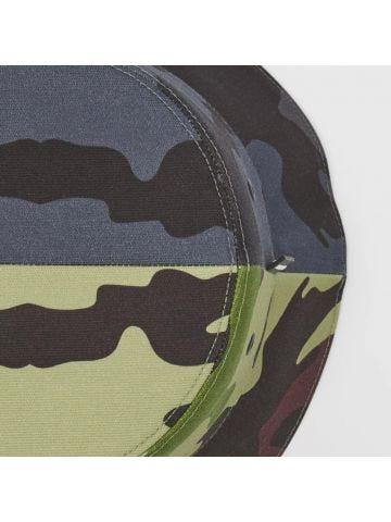 Camouflage Print Cotton Bucket Hat