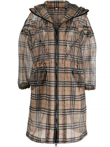 Trench Vintage Check beige
