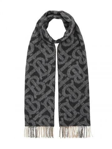 Reversible print scarf