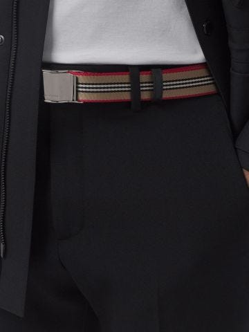 Icon Stripe belt