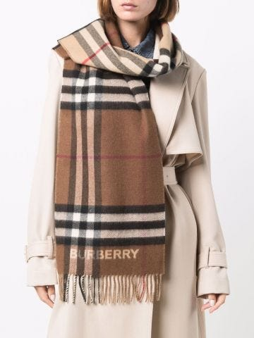 Vintage Checked scarf