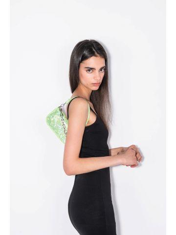 Mini Rachel Paradisco Hologram leather bag