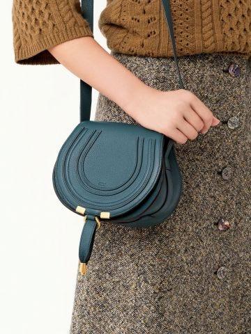 Blue Mini Marcie bag