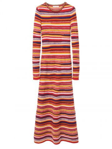 Fitted knitted dress