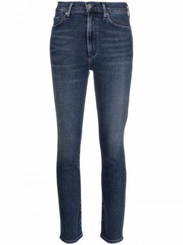 Olivia high-waisted skinny jeans