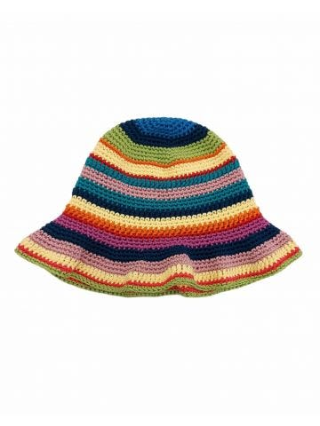 Multicolored Crochet hat
