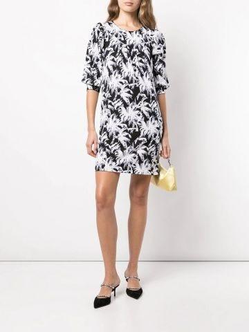 Noel print dress