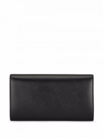 Black calfskin 3.5 clutch
