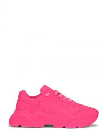 Daymaster sneakers in pink matt effect nappa calfskin