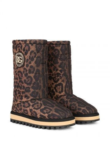 Leopard City Boots