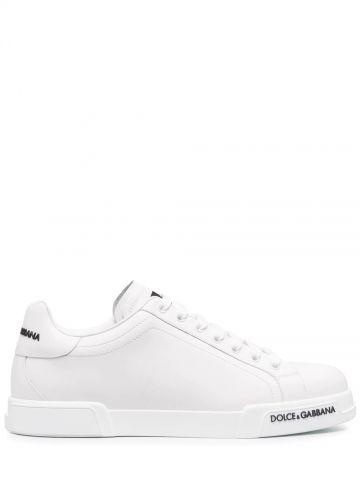 Sneakers Portofino in vitello nappato