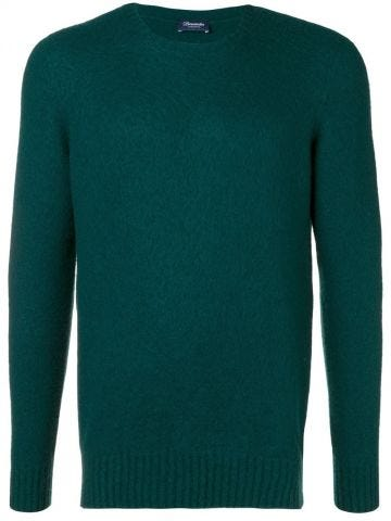 Green Wool crew-neck jumper