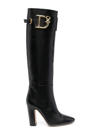 Black D2 boots