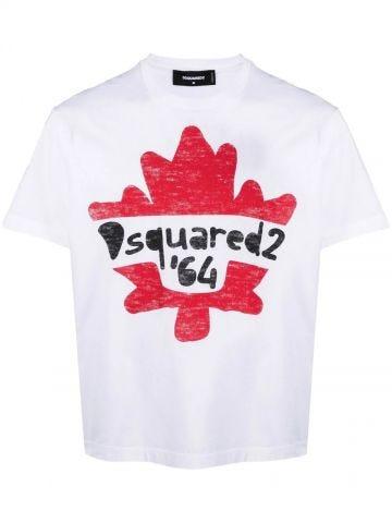 White '64 logo T-shirt