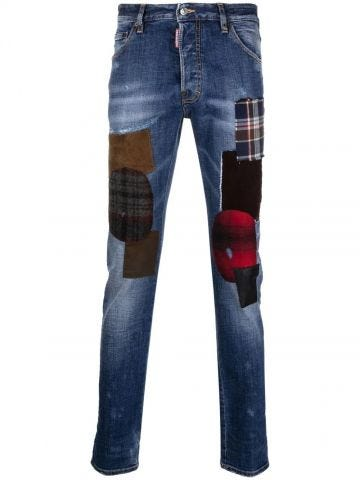 Blue Hand Me Down Patch Cool Guy jeans