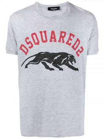 Gray T-shirt with logo