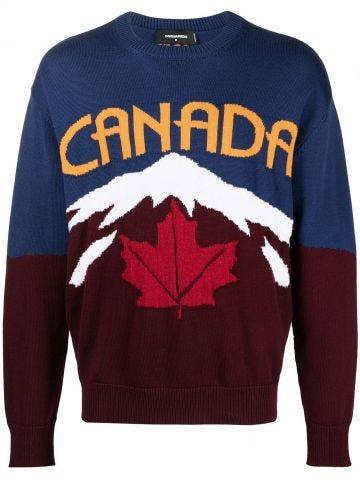 Maglione Canada multicolore