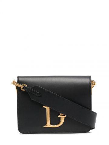 Black D2 shoulder bag