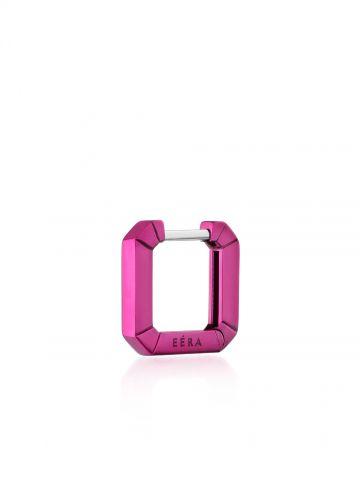 Mini Eéra 18K pink gold Huggie hoop earring