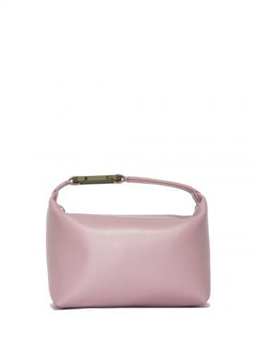 Moonbag pink satin handbag