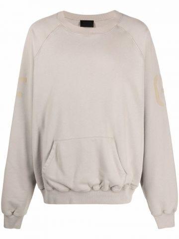 Beige crewneck sweatshirt