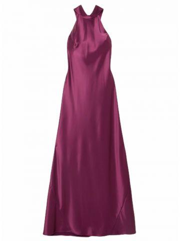 Sienna purple long dress