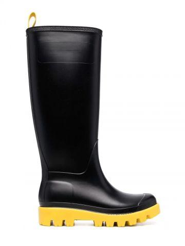 Black Giove Bis 30mm rain boots