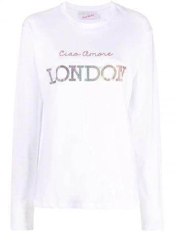 Ciao Amore London white T-shirt