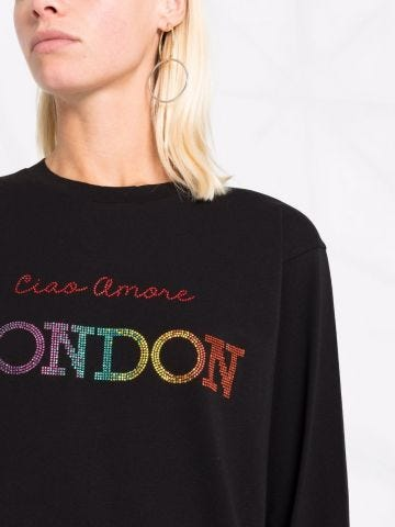 Ciao Amore London black T-shirt