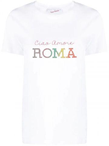 Ciao Amore Roma white T-shirt