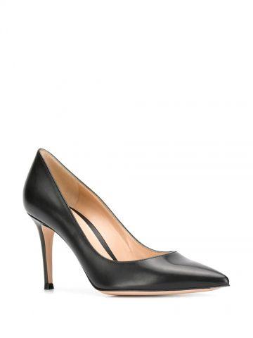 Black stiletto Gianvito 85 pumps