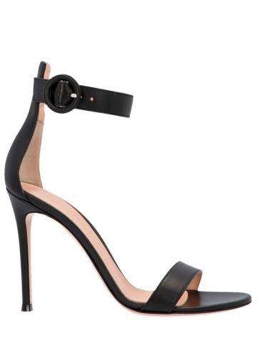 Black Portofino sandal