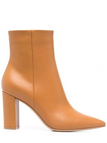 Brown Piper 85 ankle boots