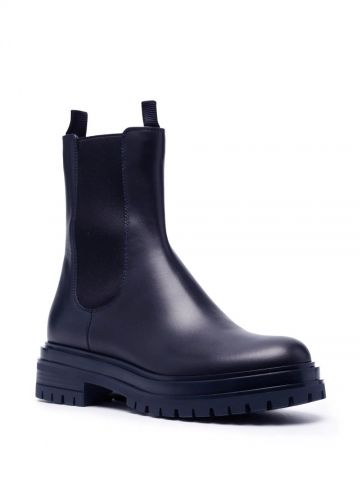 Black Chester boots
