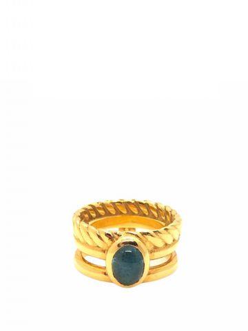 Anello Amber Blu