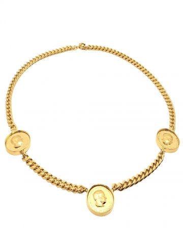 Collana Elizabeth tre monete oro