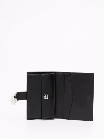4G cardholder in black box leather