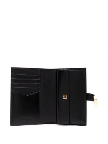 4G wallet in black box leather