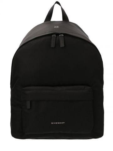 Eseentiel U backpack in black nylon