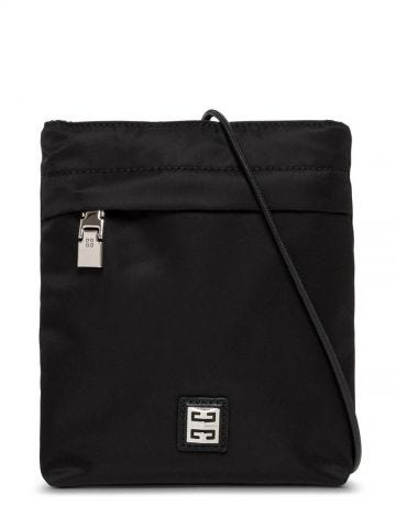 4G light iPhone pouch in black nylon