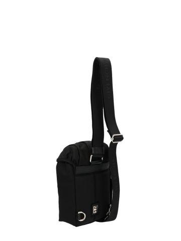 Mini 4G light backpack in black nylon