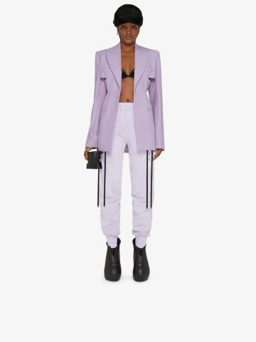 Purple Givenchy Barbed Wire slim fit jogger pants