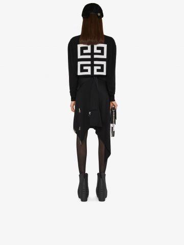 Maglione Givenchy 4G in cashmere nero