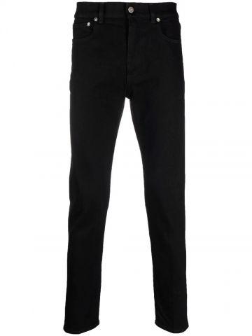 Black Alvaro slim-fit jeans