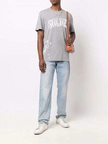 Grey T-shirt with print