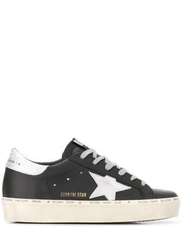 Black Hi-Star sneakers